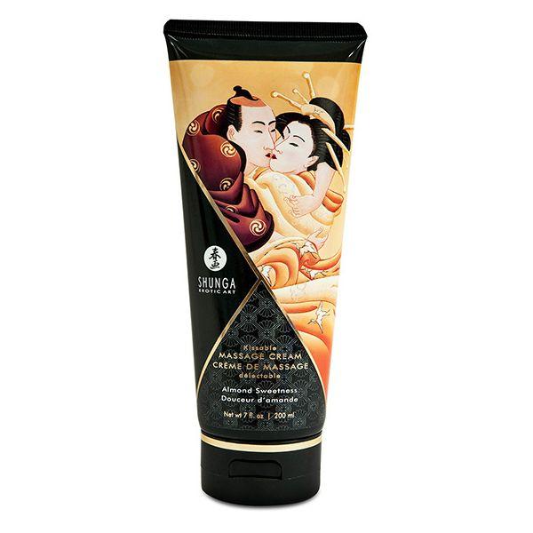 Crème de massage Amande 200 ml Shunga SH4112
