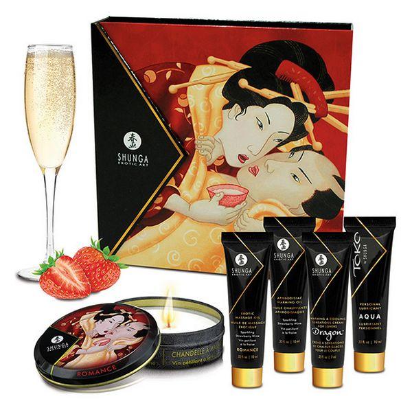 Geisha Sparjling Vin de Fraise Shunga SH8208
