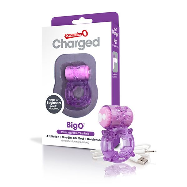 Charged Big O violet The Screaming O 13157