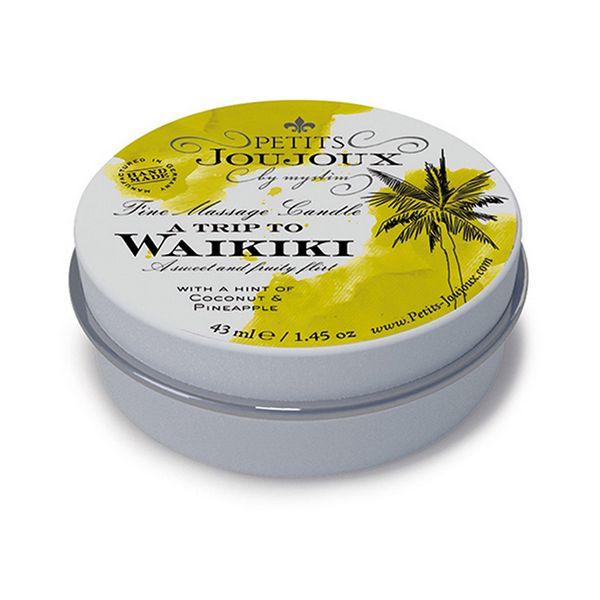 Bougie de massage Waikiki (33g) Petits Joujoux 67632