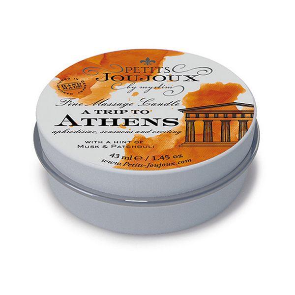 Bougie de massage Athènes (33g) Petits Joujoux 67625