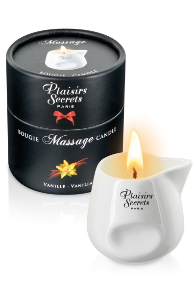 Bougie de massage - Vanille
