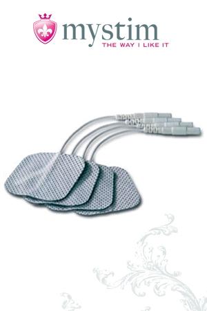 Mystim Electrodes (square)
