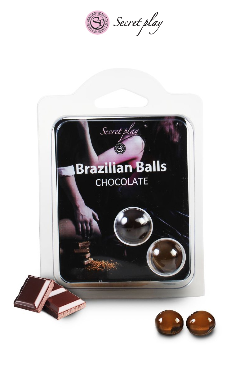 2 Brazilian Balls - chocolat