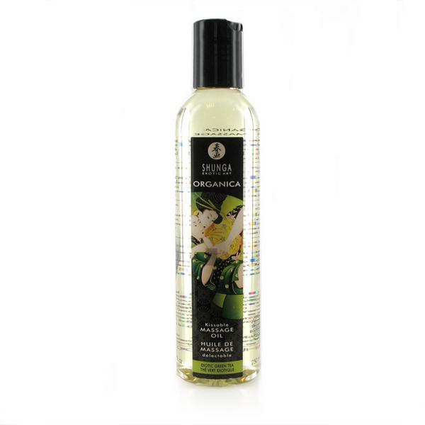 Huile de massage Bio Thé Vert Érotique Shunga SH1100 (250 ml)