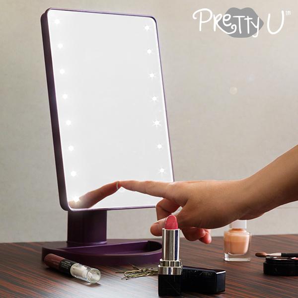 Miroir LED de Table Pretty U