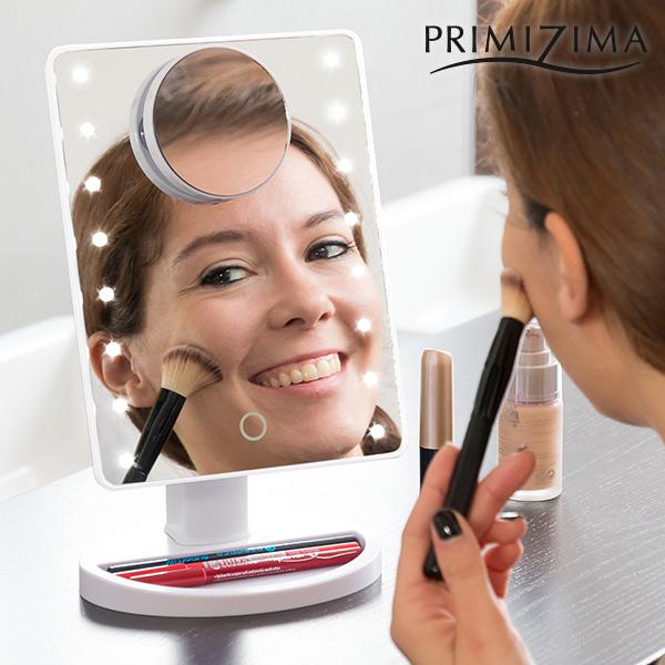 Miroir LED avec Grossissement pour se Maquiller Primizima