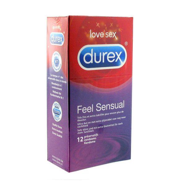 Feel Sensuel Préservatifs Sensuel 12 pcs Durex E20298