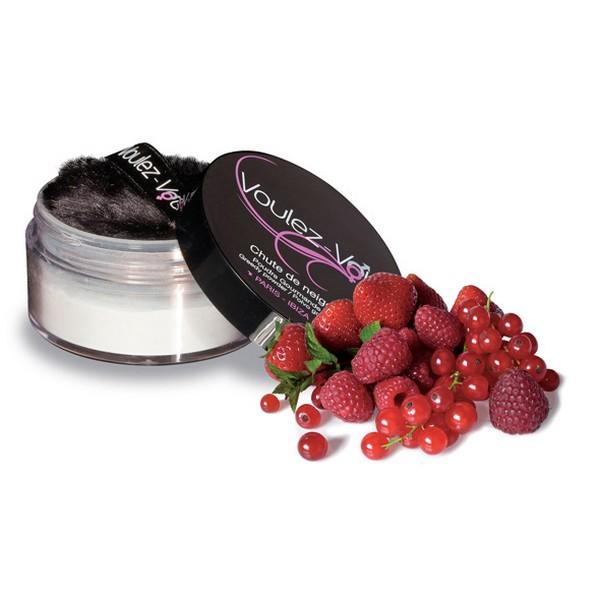 Talc comestible aux fruits rouges Voulez-Vous... 2510