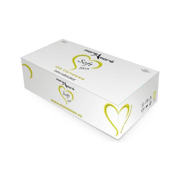 Préservatif Soft Skin 100 pcs MoreAmore E21035