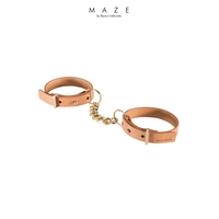 Menottes bracelets marron - Maze
