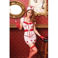 Déguisement infirmière 8 pièces