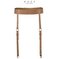 Porte-jarretelles marron - Maze