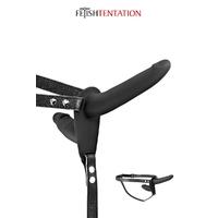 Double gode ceinture noir - Fetish Tentation
