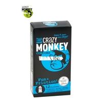 12 Préservatifs Crazy Monkey Fun & Friction