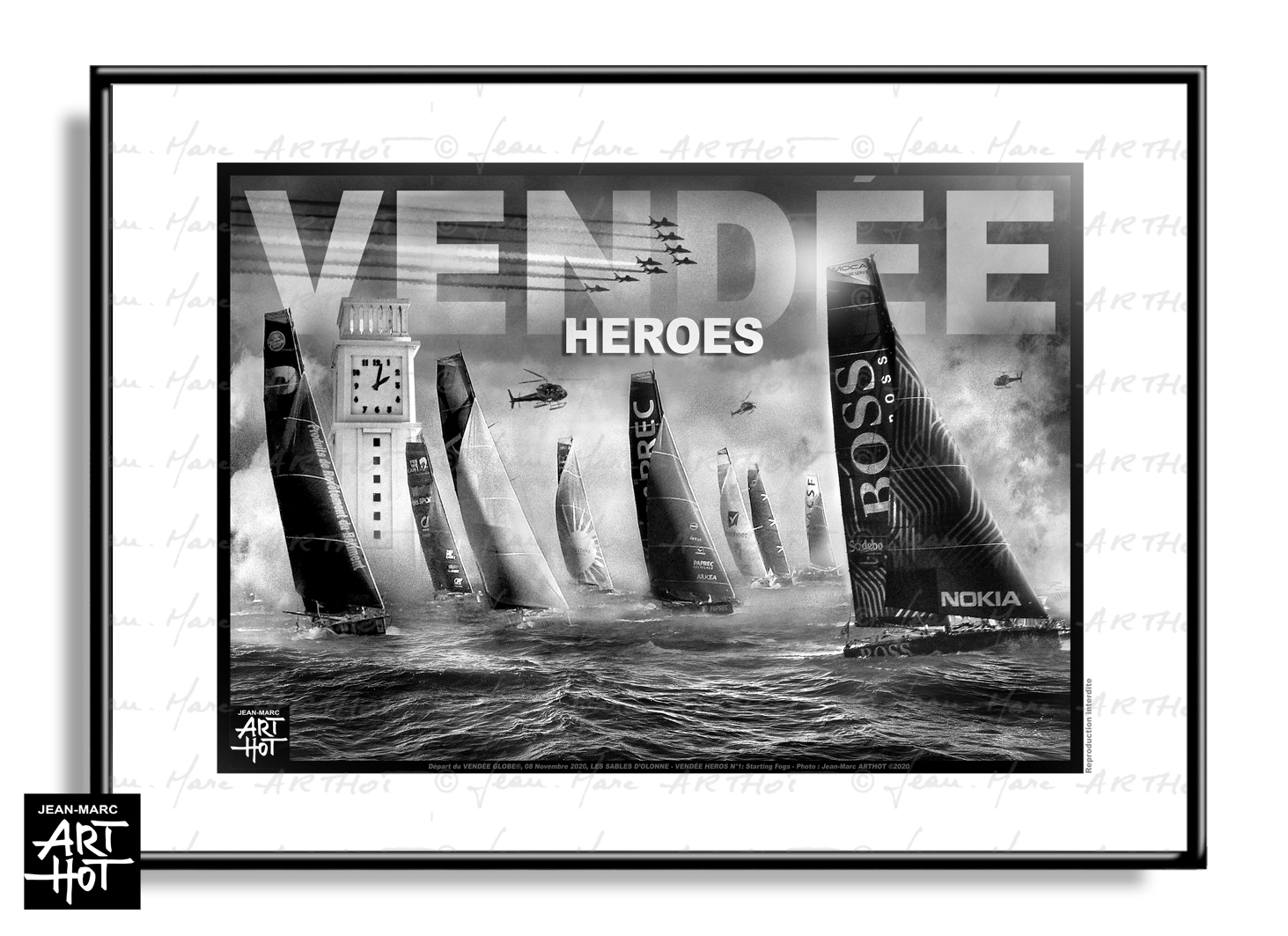 AFFICHE VENDÉE HEROES N°01 - Starting Fogs