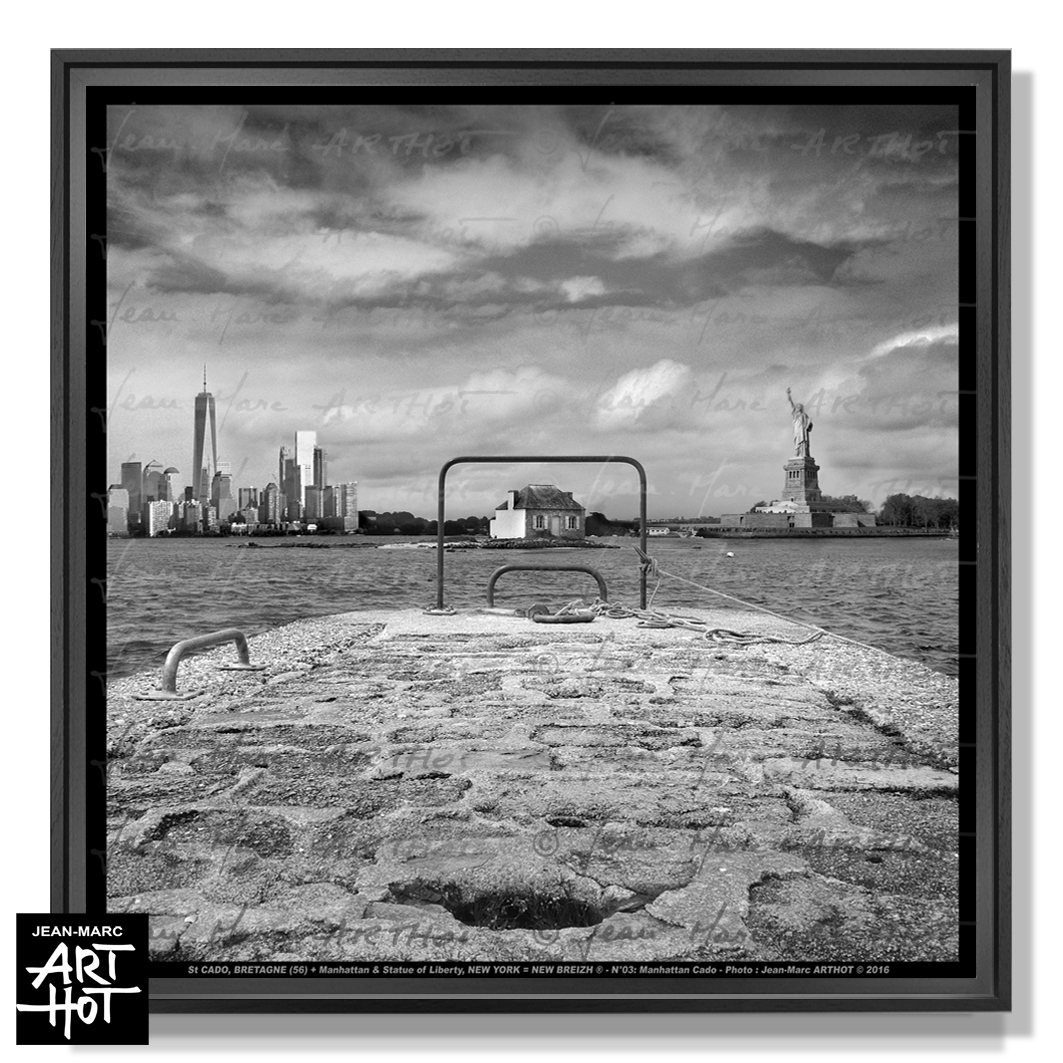 PHOTO D\'ART NEW BREIZH N°03-Manhattan Cado