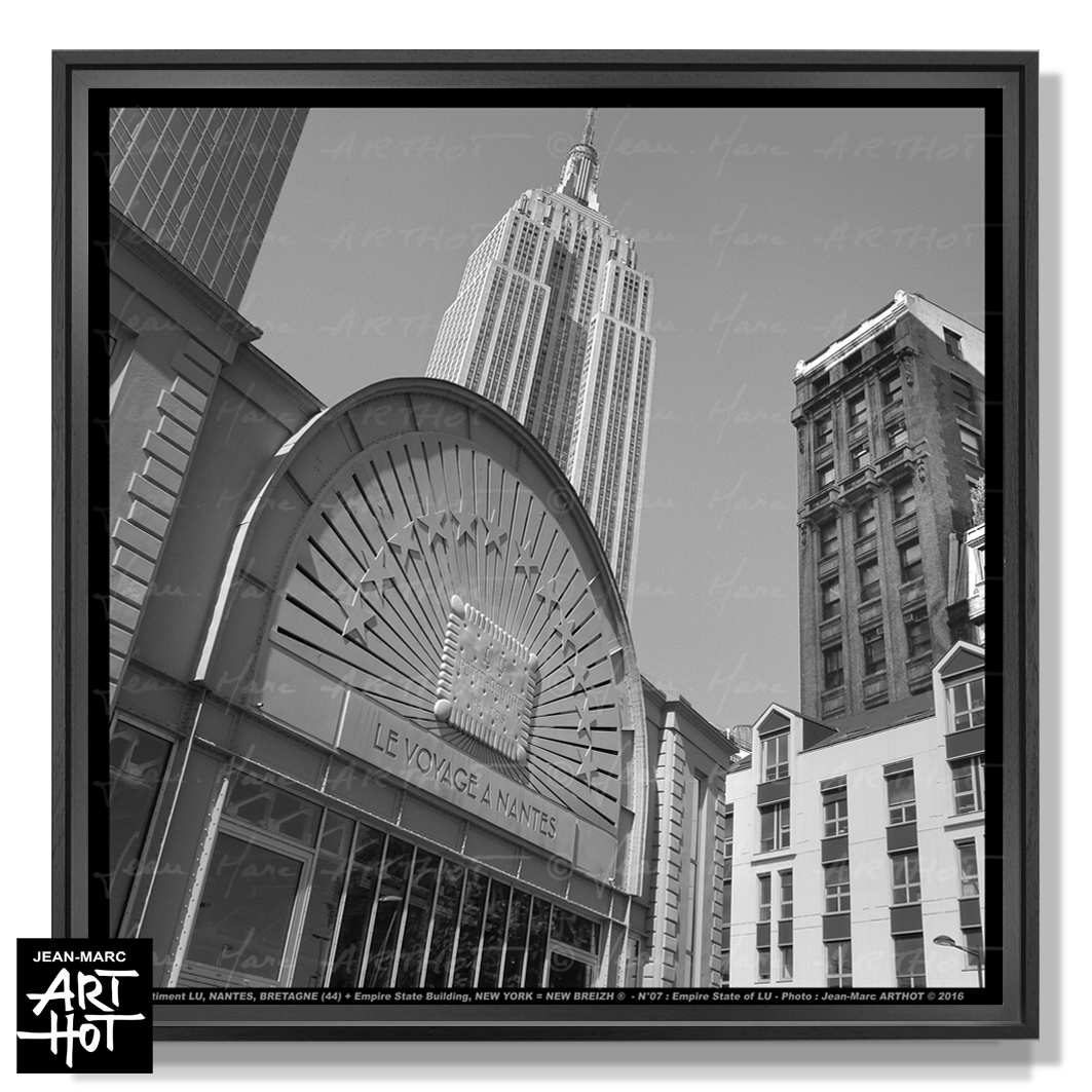 PHOTO D\'ART NEW BREIZH N°07-Empire State of LU