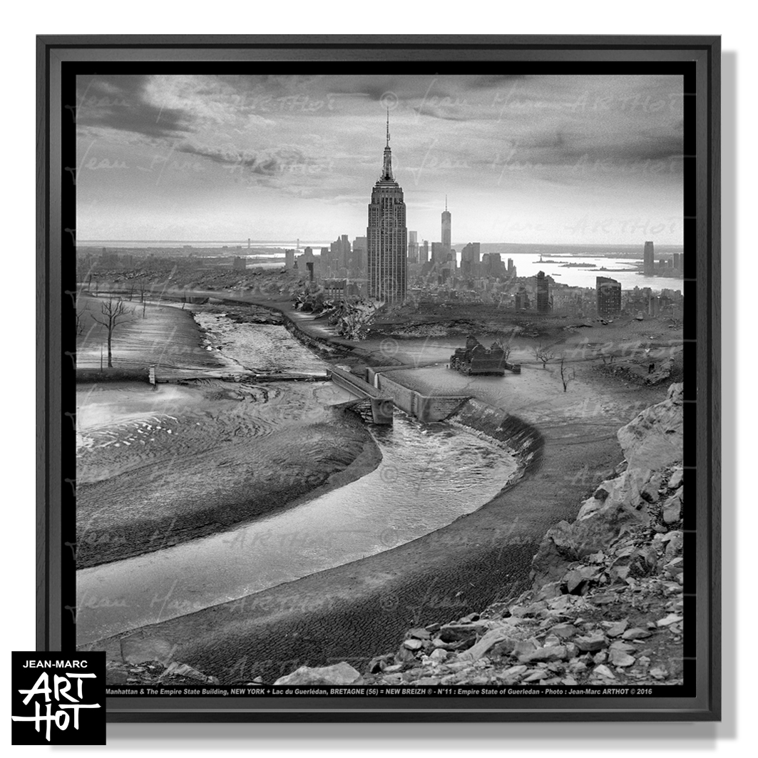 PHOTO D\'ART NEW BREIZH N°11-Empire State of Guerledan