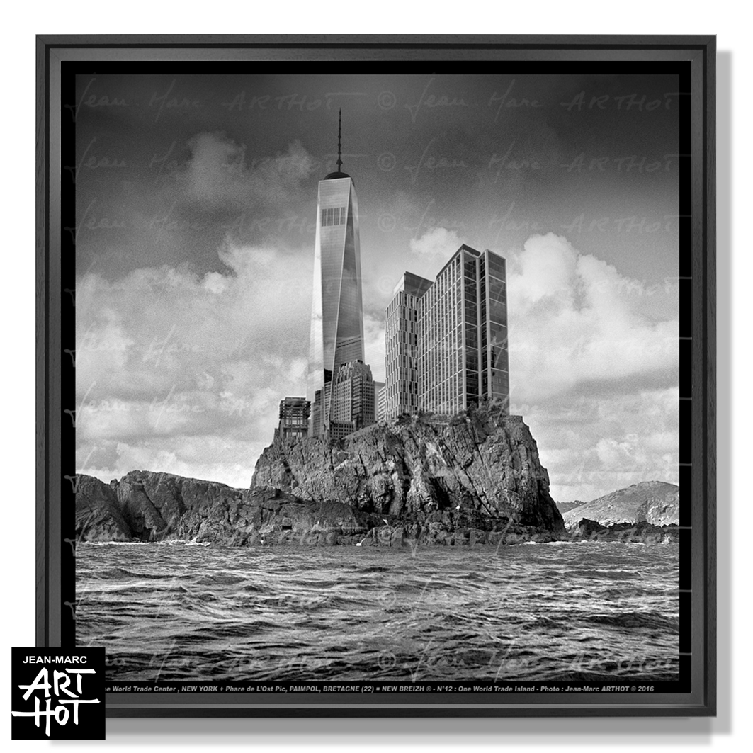PHOTO D\'ART NEW BREIZH N°12-One World Trade Island