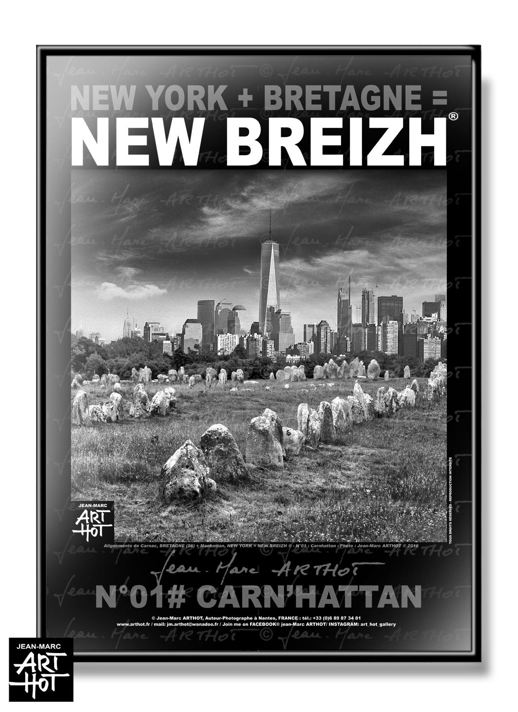 AFFICHE NEW BREIZH N°01-Carnhattan