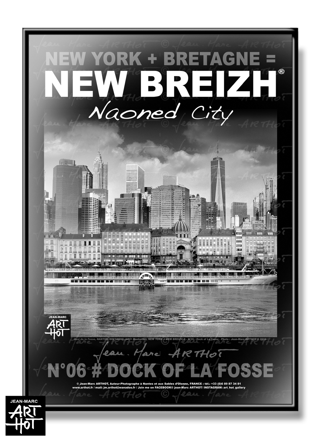 AFFICHE NEW BREIZH N°06-Dock of La Fosse