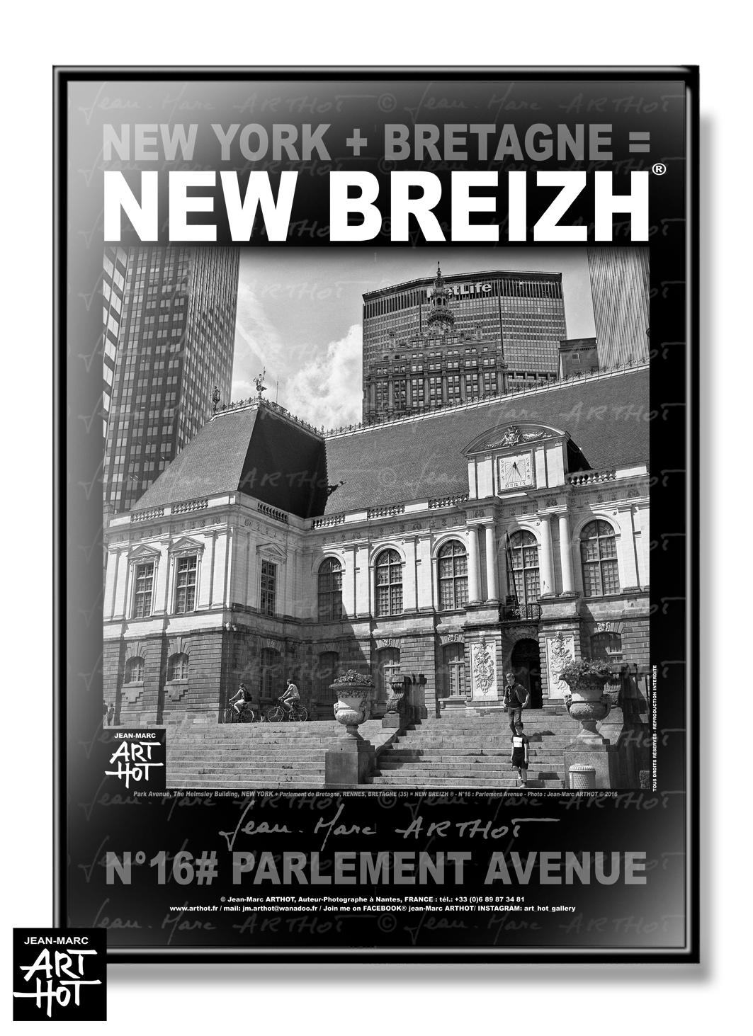 AFFICHE NEW BREIZH N°16-Parlement Avenue