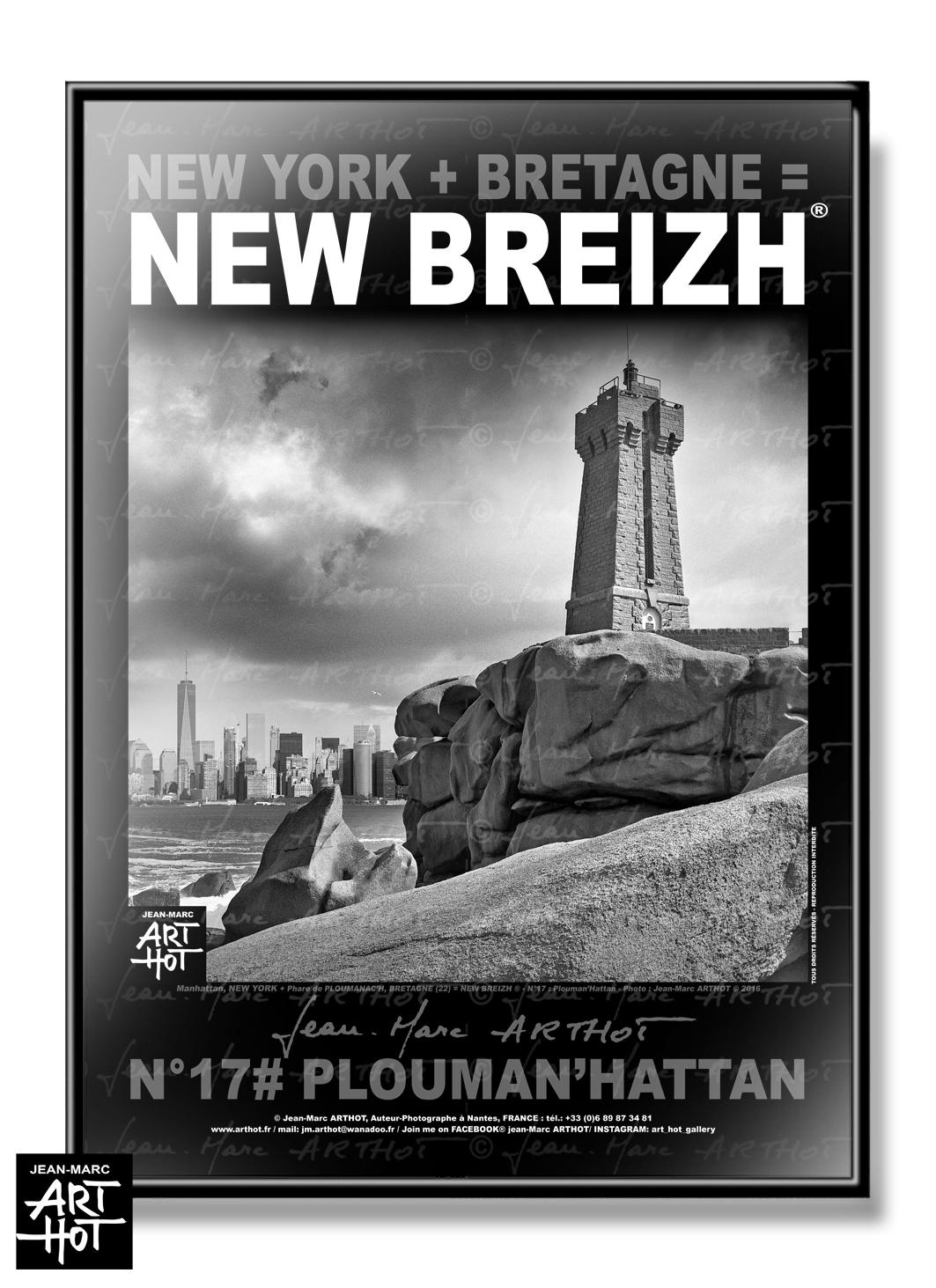 AFFICHE NEW BREIZH N°17-Plouman\'Hattan