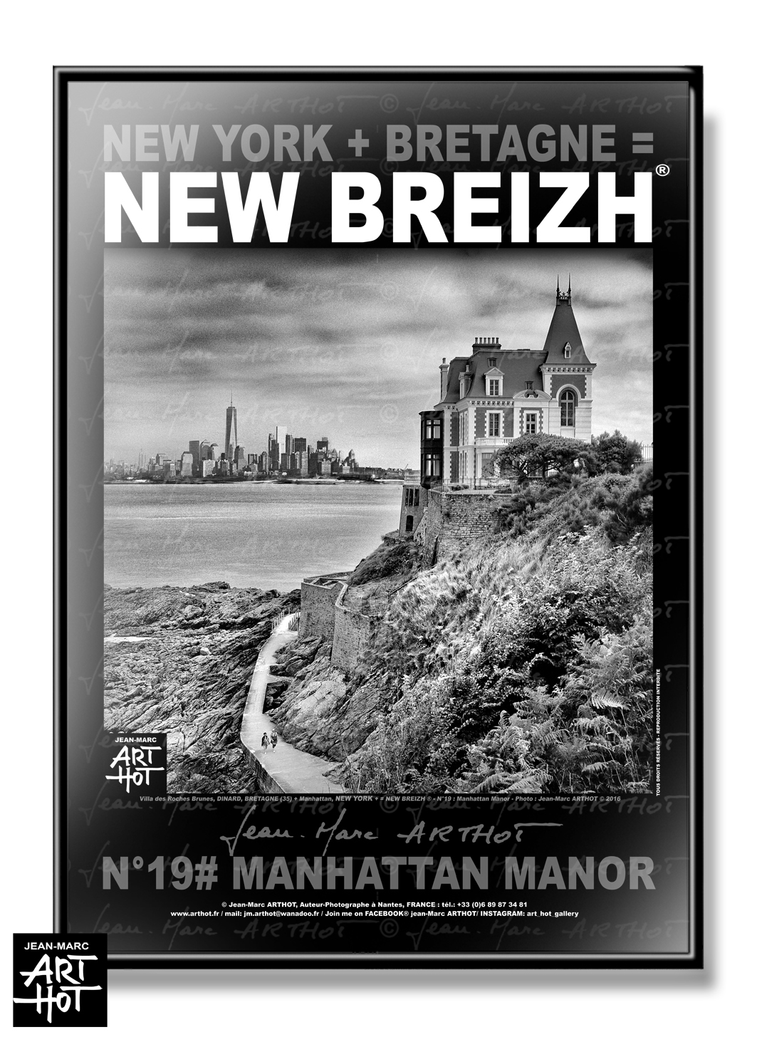 AFFICHE NEW BREIZH N°19-Manhattan Manor