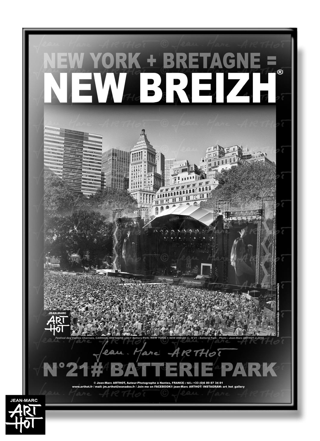 AFFICHE NEW BREIZH N°21-Batterie Park