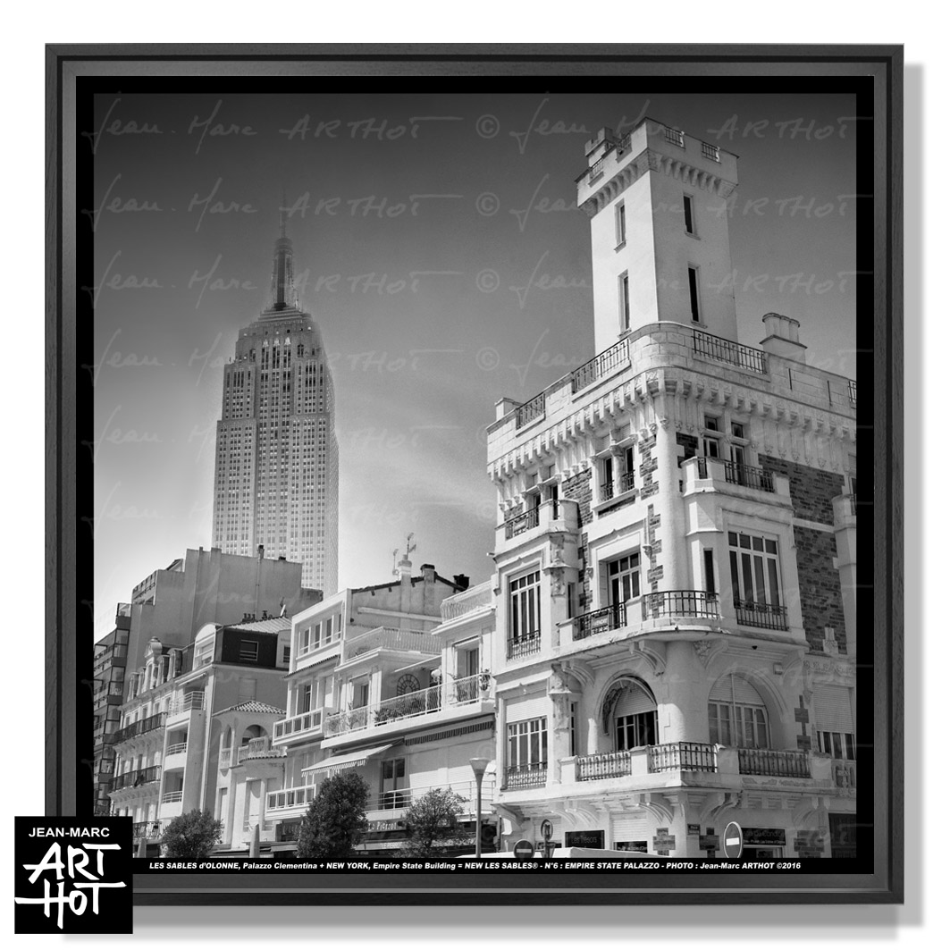 PHOTO D\'ART NEW LES SABLES N°06-Empire State Palazzo