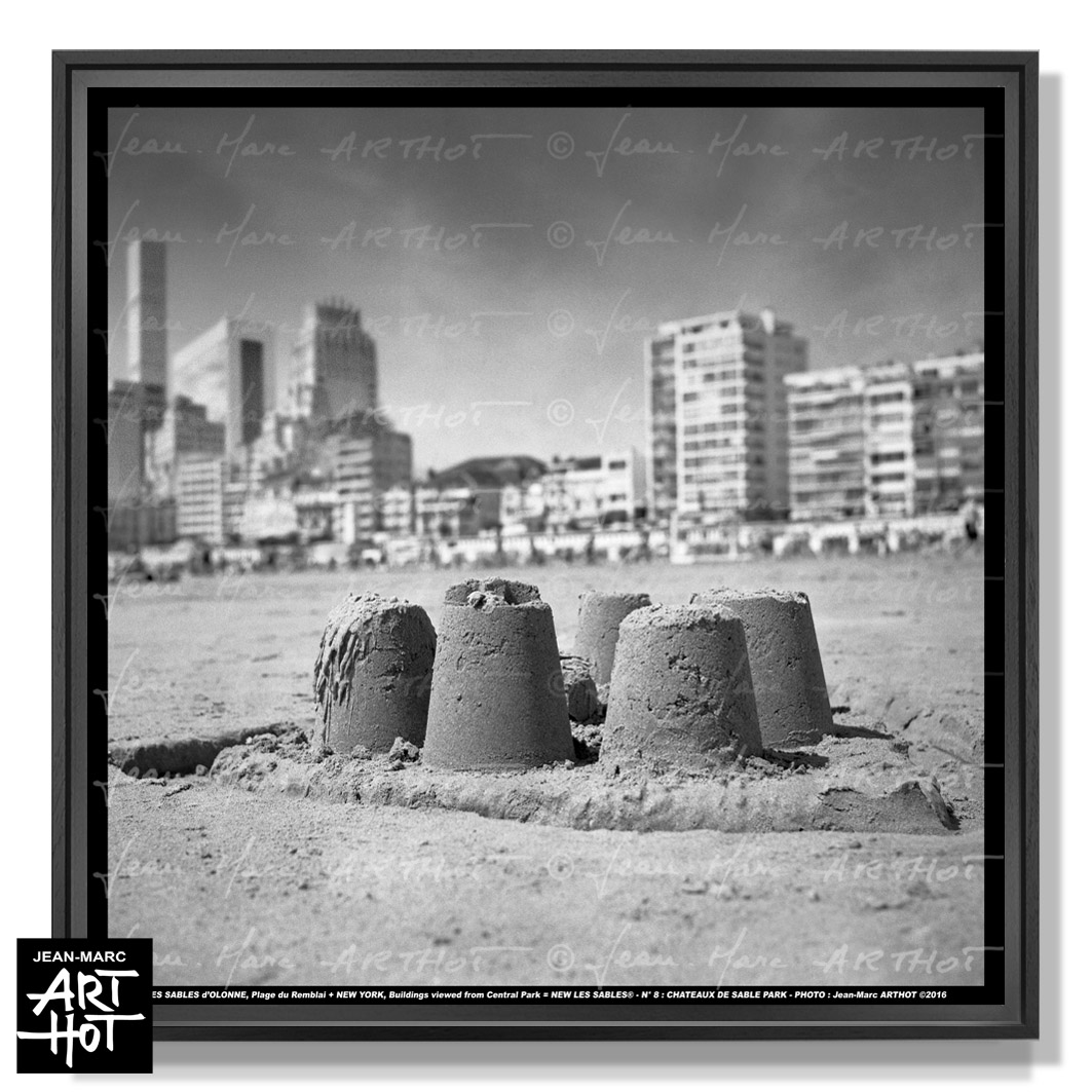 PHOTO D\'ART NEW LES SABLES N°08-Château de Sable Park