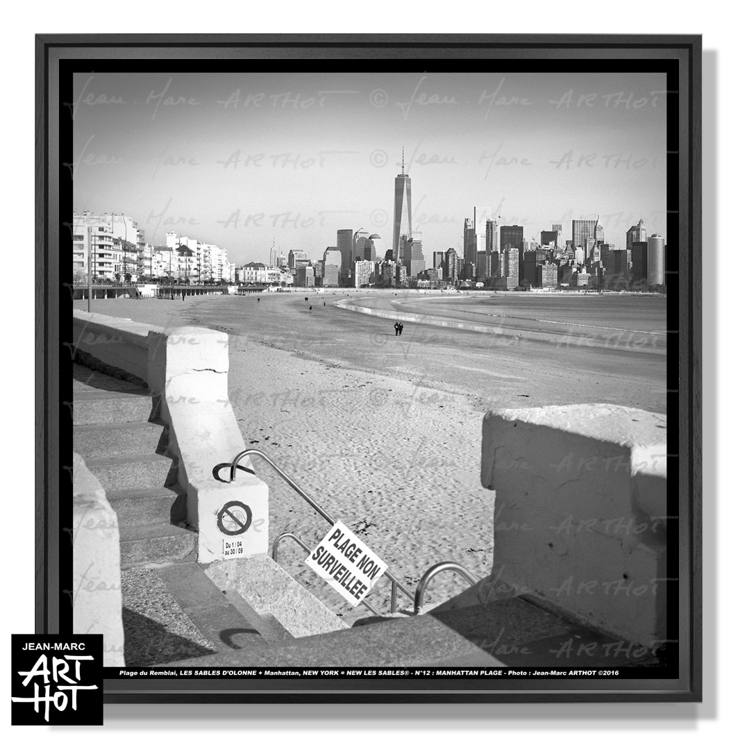 PHOTO D\'ART NEW LES SABLES N°12-Manhattan Plage