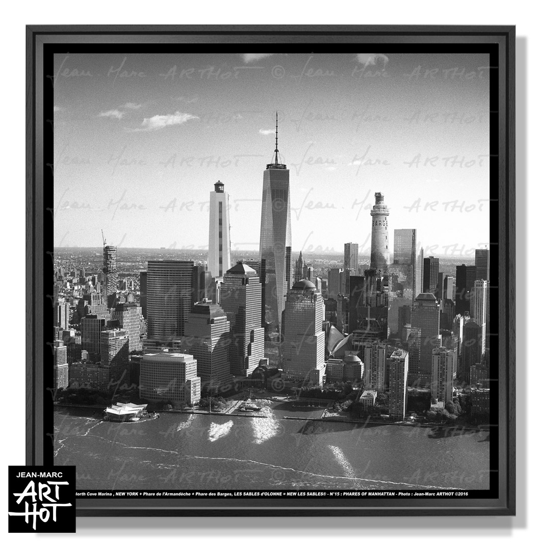 PHOTO D\'ART NEW LES SABLES N°15-Phares Of Manhattan