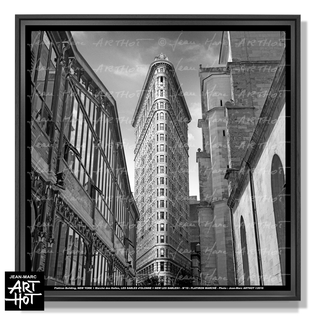 PHOTO D\'ART NEW LES SABLES N°19-Flatiron Marché