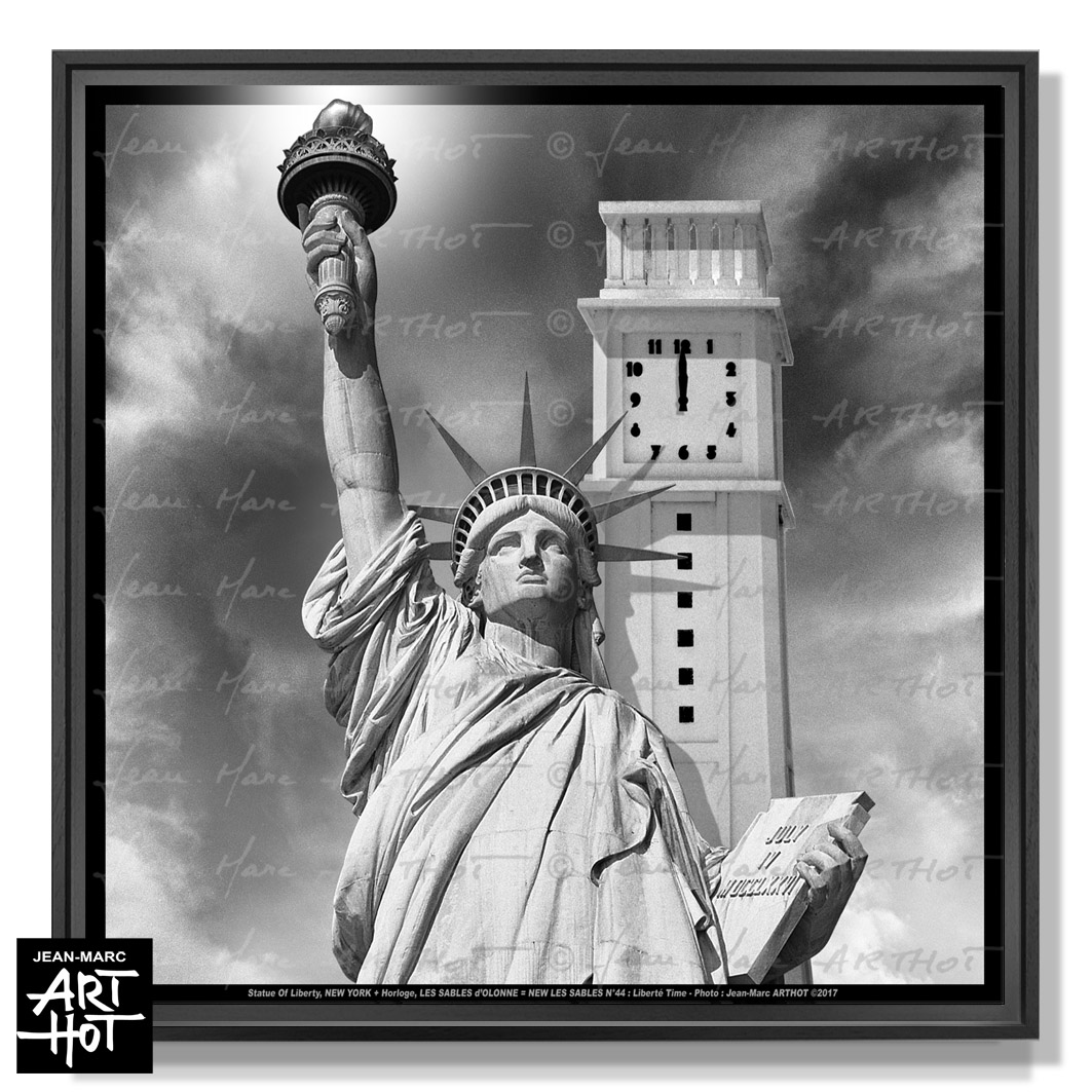 PHOTO D\'ART NEW LES SABLES N°44-Liberté Time