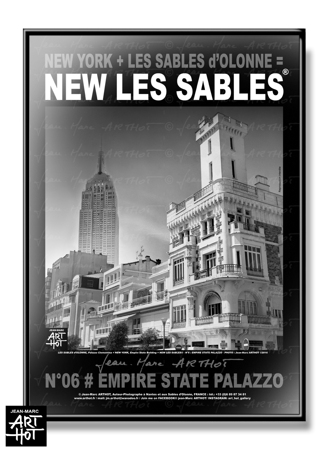 AFFICHE NEW LES SABLES N°06-Empire State Palazzo