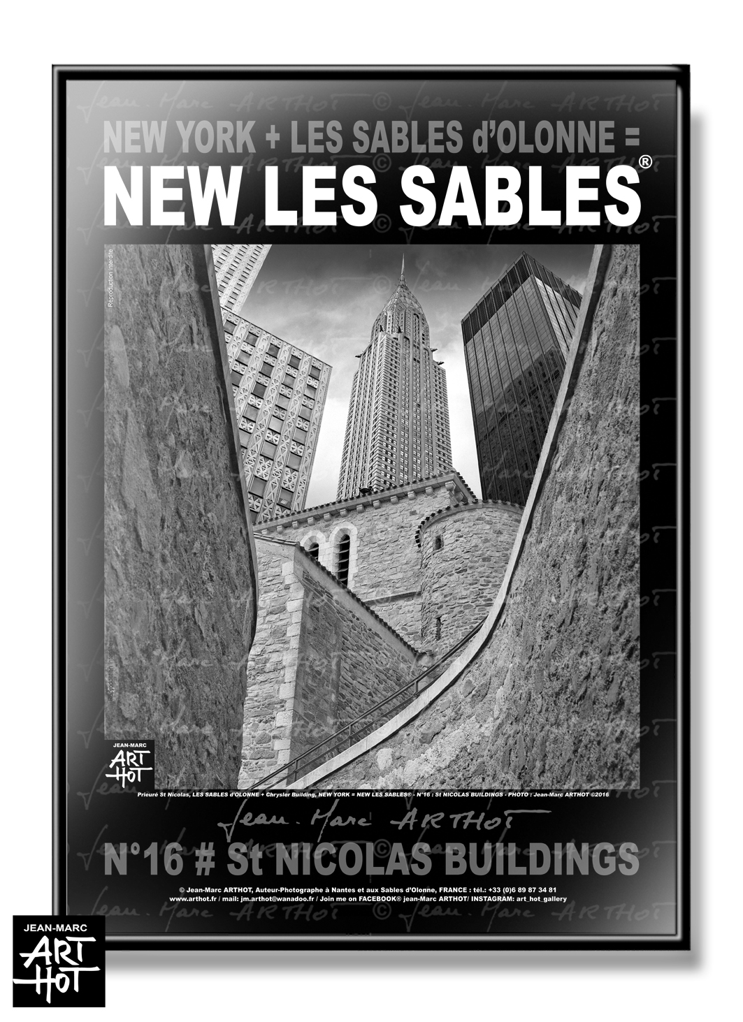 AFFICHE NEW LES SABLES N°16-St Nicolas Buildings