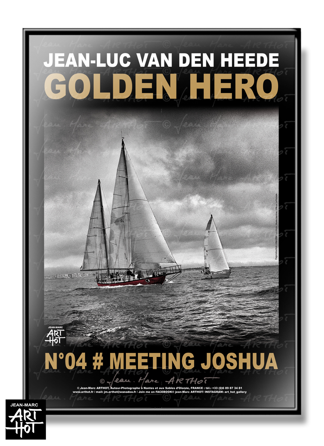 AFFICHE VDH-GOLDEN HERO-N°04-Meeting Joshua