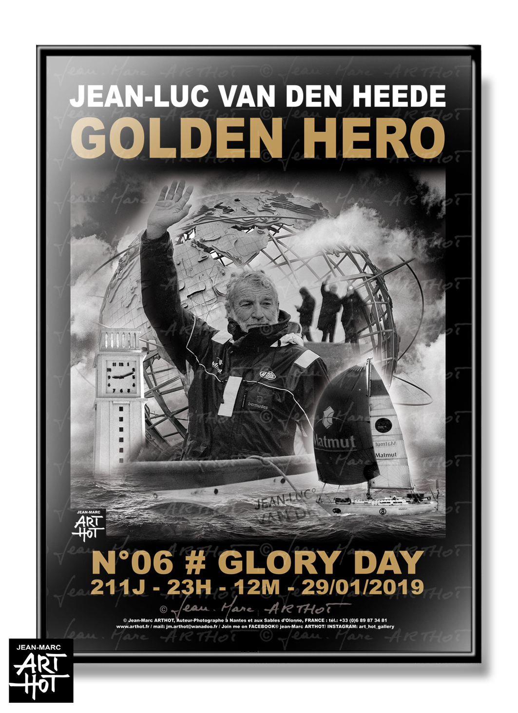 AFFICHE VDH-GOLDEN HERO-N°06-Glory Day