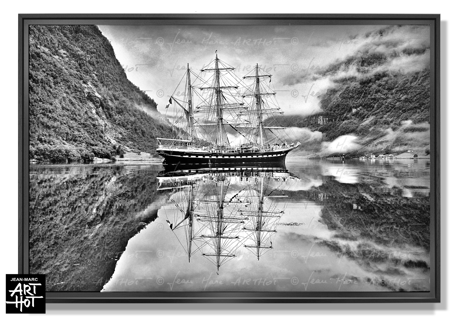 PHOTO D\'ART BELEM, LE FANTÔME DE NORVÈGE-N°02-Perfect Mirror-4118