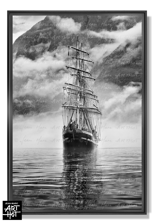 PHOTO D\'ART «BELEM, LE FANTÔME DE NORVÈGE-N°06-Tall Ship Fantôme-4256