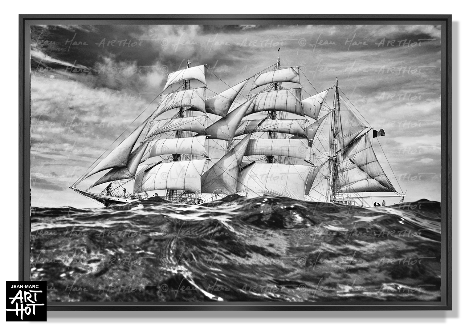 PHOTO D\'ART « BELEM, LE VOYAGE FANTASTIQUE -N°08-Riding the Waves-0881