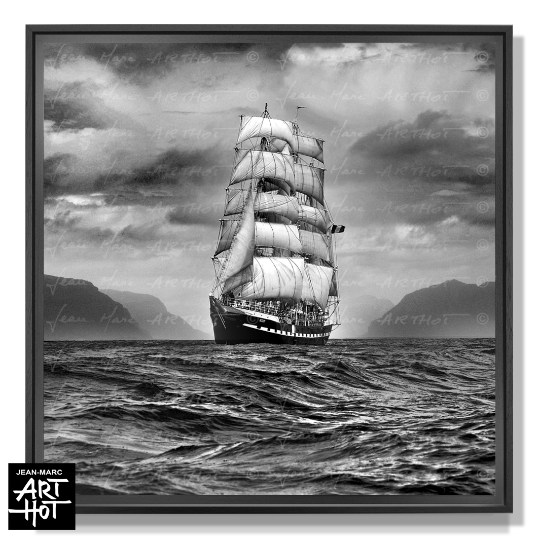 PHOTO D\'ART « BELEM, LE FANTÔME DE NORVÈGE-N°09-Pirates des CarFjords-0871