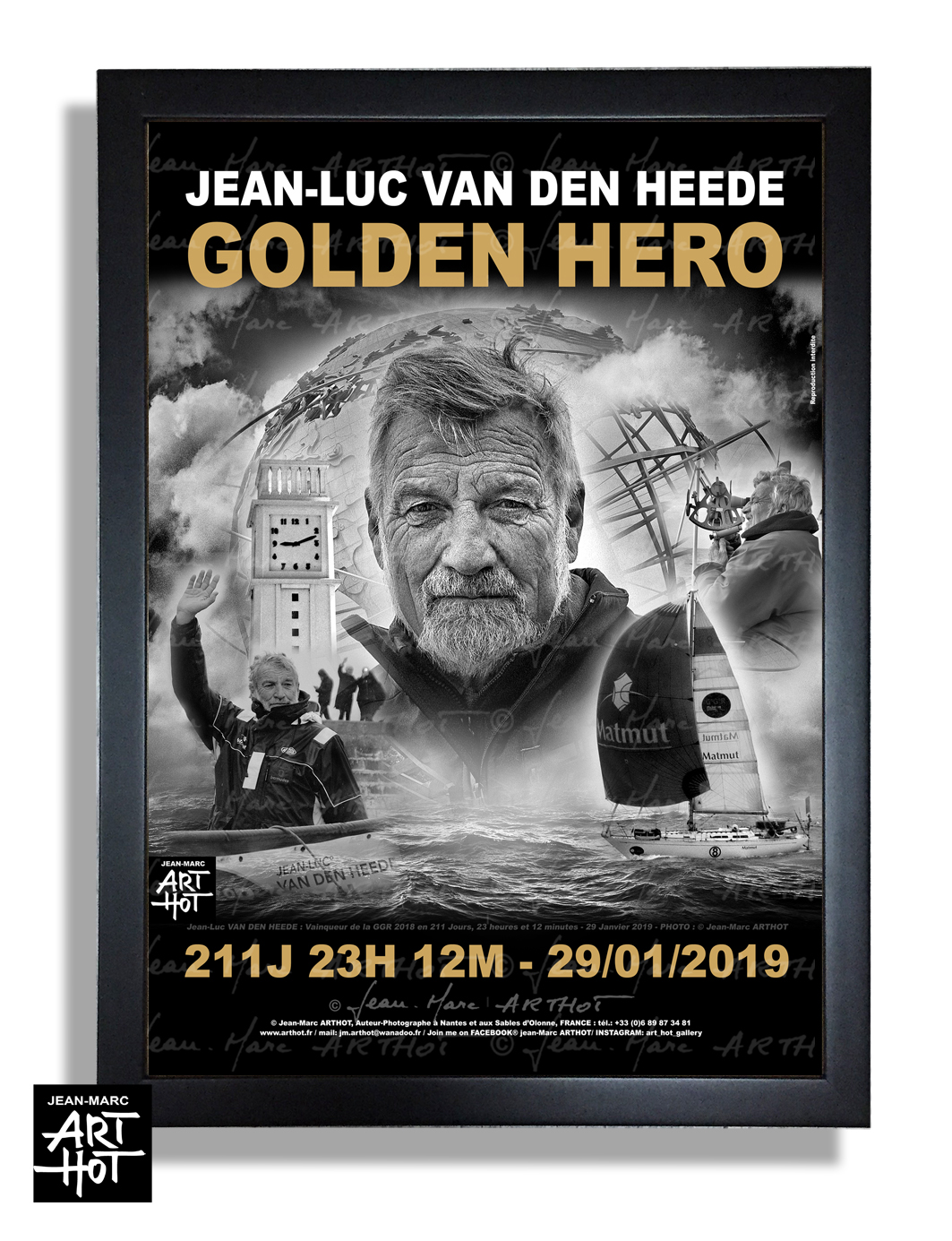 AFFICHE VDH-GOLDEN HERO-N°06-Glory Day - EDITION LUXE