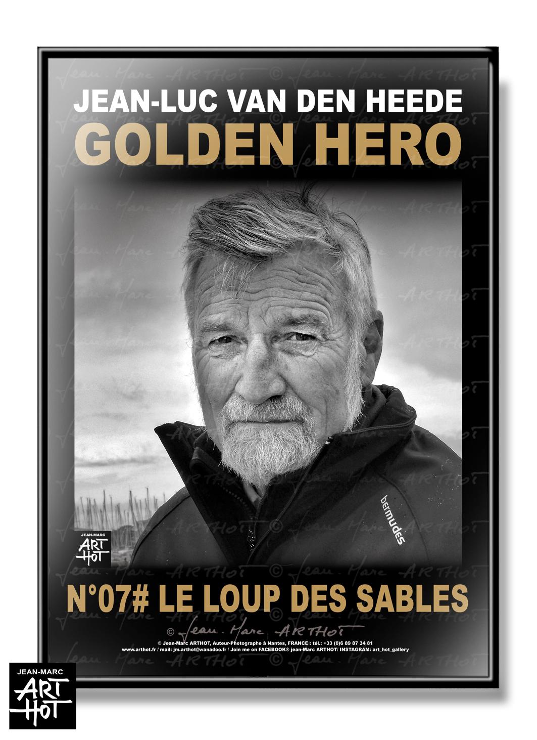 AFFICHE VDH-GOLDEN HERO-N°07-Le Loup des Sables