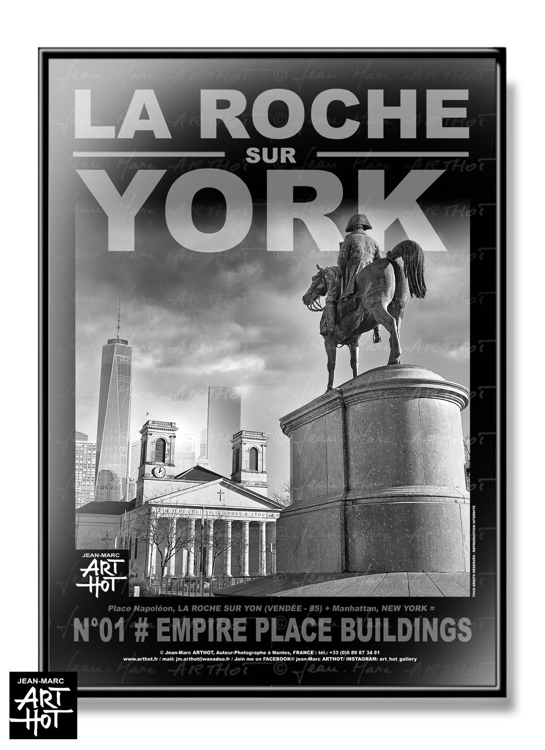 AFFICHE «LA ROCHE SUR YORK» - N°01-Empire Place Buildings