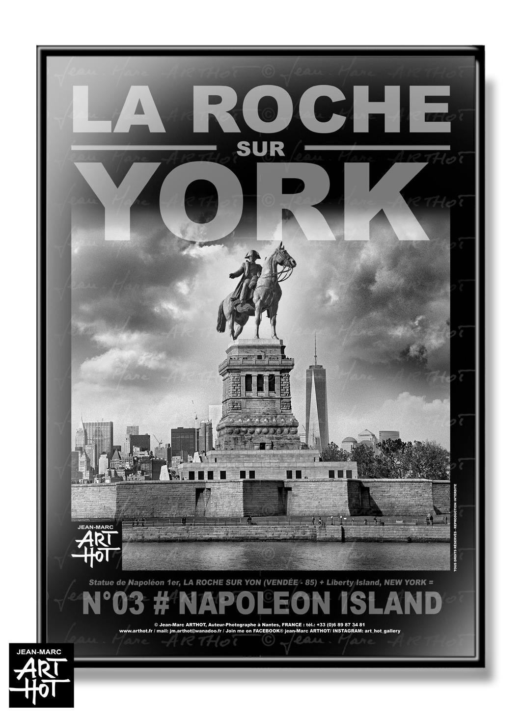 AFFICHE «LA ROCHE SUR YORK» - N°03-Napoleon Island