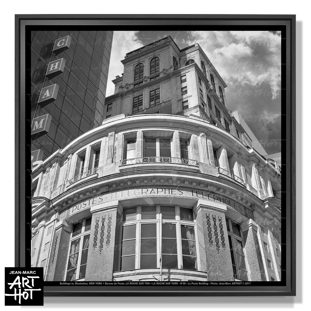 PHOTO D\'ART « LA ROCHE SUR YORK » - N°08 - La Poste Building