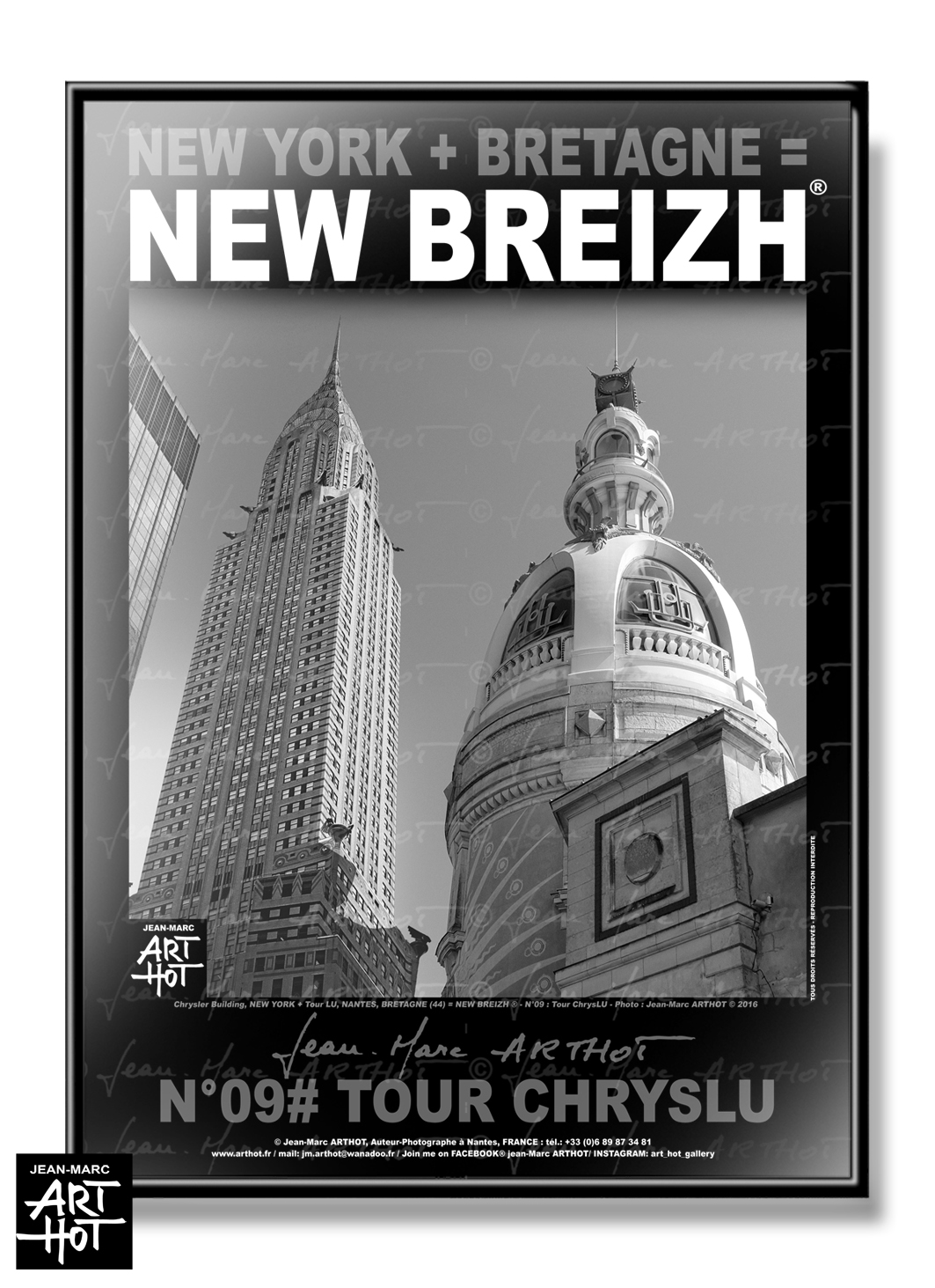 AFFICHE NEW BREIZH N°09-Tour ChrysLU